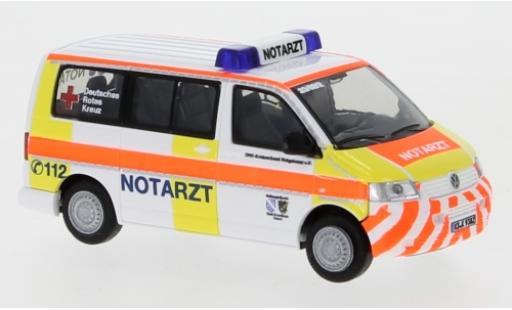 Volkswagen T5 1/87 Rietze DRK Hofgeismar 2003 Notarzt Einsatzserie 1:87 miniature