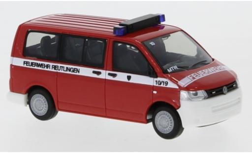 Volkswagen T5 1/87 Rietze Feuerwehr Reutlingen 2010 miniature