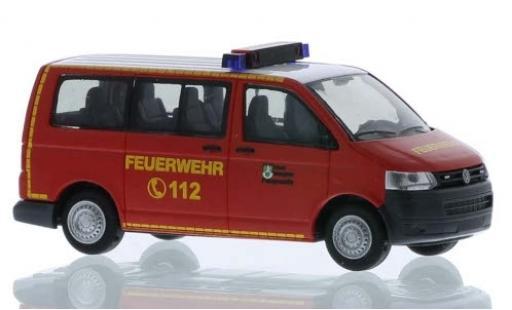 Volkswagen T5 1/87 Rietze Feuerwehr Salzgitter 2010 miniature