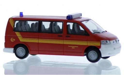 Volkswagen T5 1/87 Rietze Forschungszentrum Jülich - Werkfeuerwehr 2003 miniature