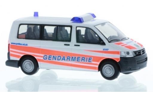 Volkswagen T5 1/87 Rietze Gendarmerie 2010 miniature