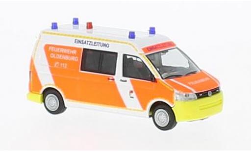 Volkswagen T5 1/87 Rietze GP Feuerwehr Oldenburg 2010 miniature