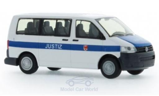 Volkswagen T5 1/87 Rietze Justiz Brandenburg 2010 miniature
