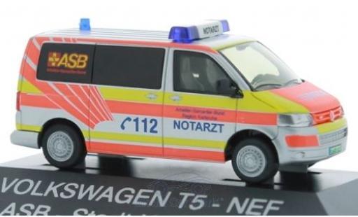 Volkswagen T5 1/87 Rietze Notarzt ASB Karlsruhe diecast