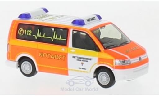 Volkswagen T5 1/87 Rietze Notarzt Rettungsdienst Höxter 2010 diecast