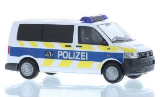 Volkswagen T5 1/87 Rietze Polizei Basel Stadt 2010 diecast model cars