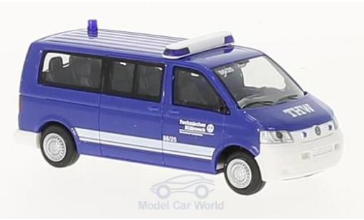 Volkswagen T5 1/87 Rietze THW OV Saarbrücken 2003 miniature