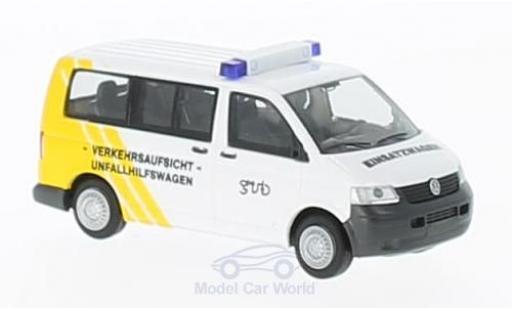 Volkswagen T5 1/87 Rietze Verkehrsaufsicht Gera diecast model cars