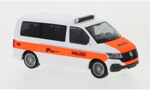 Volkswagen T6 1/87 Rietze .1 Bus Kantonspolizei Zürich diecast model cars