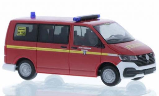 Volkswagen T6 1/87 Rietze .1 Feuerwehr Prisdorf court- empattement diecast model cars