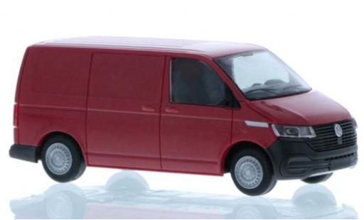 Volkswagen T6 1/87 Rietze .1 Kasten red court- empattement diecast model cars