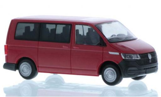 Volkswagen T6 1/87 Rietze .1 red court- empattement diecast model cars