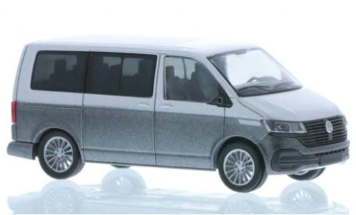 Volkswagen T6 1/87 Rietze .1 grey/metallise grey court- empattement diecast model cars