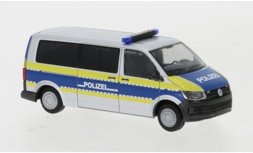 Volkswagen T6 1/87 Rietze Bus Polizei Mecklenburg-Vorpommern langer Radstand diecast model cars