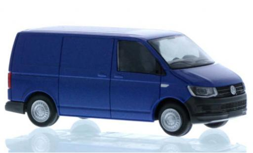 Volkswagen T6 1/87 Rietze Kasten blue court- empattement diecast model cars