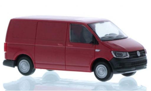 Volkswagen T6 1/87 Rietze Kasten red court- empattement diecast model cars
