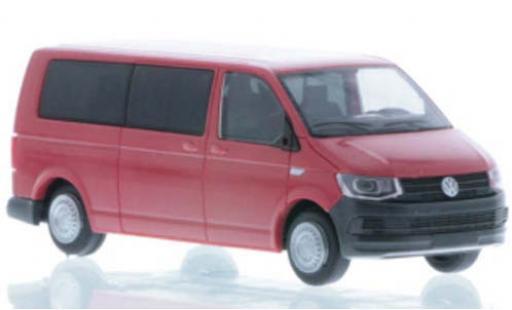 Volkswagen T6 1/87 Rietze LR Bus FD red diecast model cars