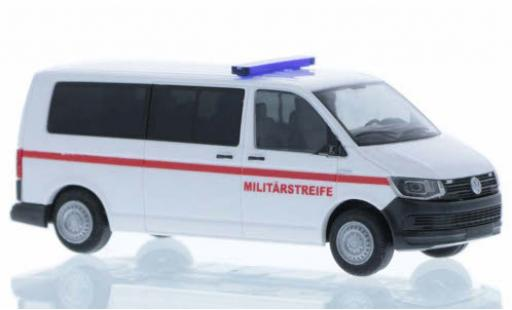 Volkswagen T6 1/87 Rietze Militärstreife (AT) plus long empattement diecast model cars