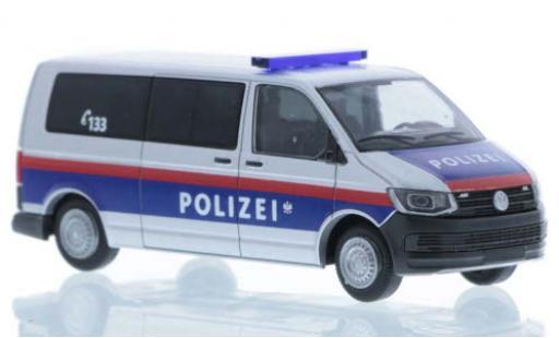 Volkswagen T6 1/87 Rietze Polizei (AT) plus long empattement diecast model cars