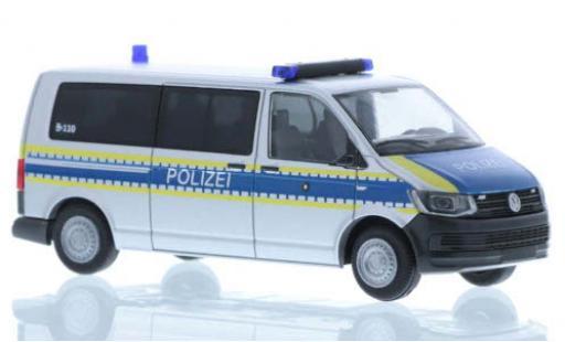 Volkswagen T6 1/87 Rietze Polizei Bayern plus long empattement diecast model cars