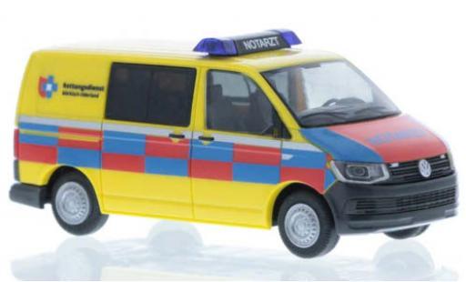 Volkswagen T6 1/87 Rietze Rettungsdienst Märkisch-Oderland court- empattement diecast model cars