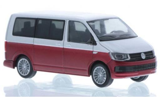 Volkswagen T6 1/87 Rietze grise/rouge court- empattement miniature