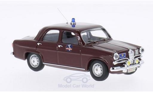 Alfa Romeo Giulietta 1/43 Rio Polizia Autostradale50th Anniversary Autostrada del sole 1964 - 2014 miniature