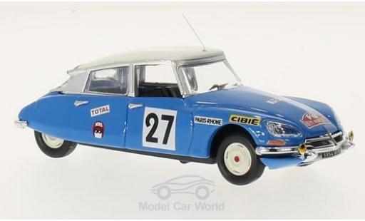 Citroen DS 21 1/43 Rio No.27 Rallye Monte-Carlo 1970 N.Pouderoux/R.Vincent miniature