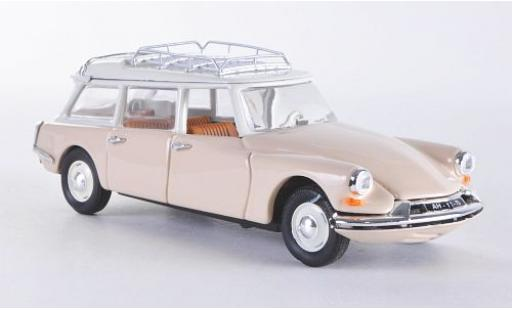 Citroen ID 19 1/43 Rio Break beige 1958 diecast model cars