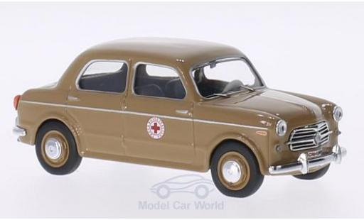 Fiat 1100 1956 1/43 Rio /103 brown Croce Rossa 1956 Rotes Kreuz (IT) diecast