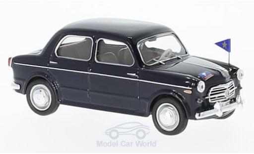 Fiat 1100 1/43 Rio /103 E black Carabinieri Serv. Ufficiali 1953 diecast model cars