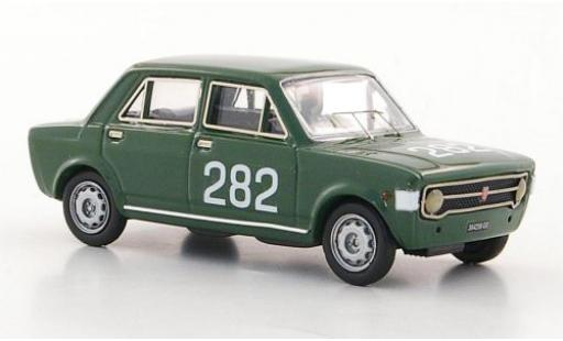 Fiat 128 1/43 Rio No.282 Rally Trento - Bondone 1969 E.Olivari miniature