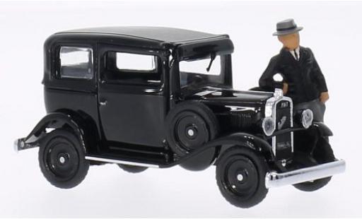 Fiat Balilla 1/43 Rio 508 Villa Torlonia negro 1932 avec figurine coche miniatura