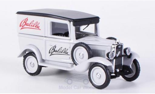 Fiat Balilla 1/43 Rio Kasten 1935 Werbefahrzeug mit Plakatwand und Figur miniature