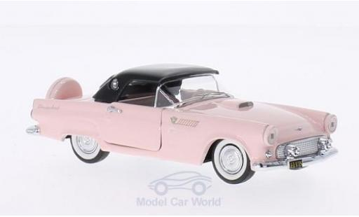 Ford Thunderbird 1956 1/43 Rio rose/noire Elvis Presley Personal Car 1956 miniature