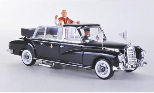 Mercedes 300 1/43 Rio D noire 1960 Pape Giovanni XXIII miniature