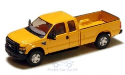 Ford F-250 1/87 River Point XLT Super Cab jaune 2008 miniature