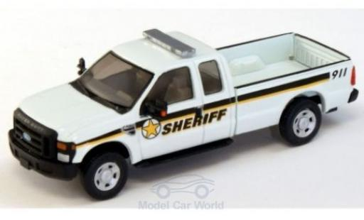 Ford F-250 1/87 River Point XLT Super Cab Sheriff 2008 miniature