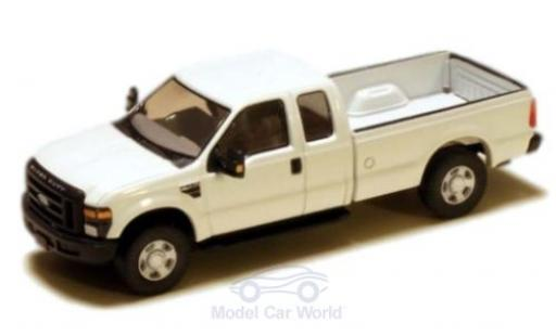 Ford F-250 1/87 River Point XLT Super Cab blanche 2008 miniature
