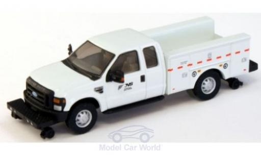 Ford F-350 1/87 River Point XLT Super Cab Hi Rail Utility Truck NS - Norfolk Southern 2008 miniature