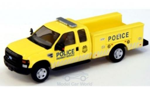 Ford F-350 1/87 River Point XLT Super Cab Utility Truck Police Highway Service 2008 modellautos
