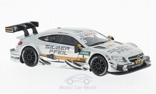 Mercedes Classe C DTM 1/43 RMZ Hobby AMG C 63 DTM No.6 DTM R.Wickens miniature