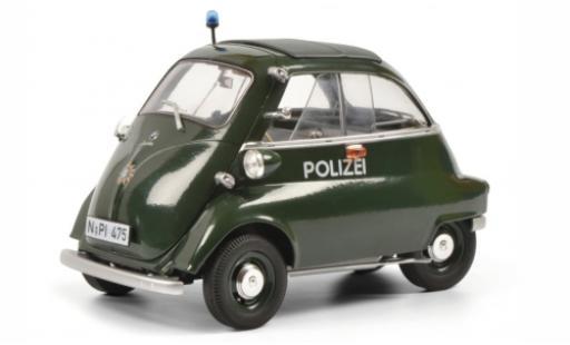 Bmw Isetta 1/18 Schuco 250 Export Polizei (D) 1955 modellino in miniatura