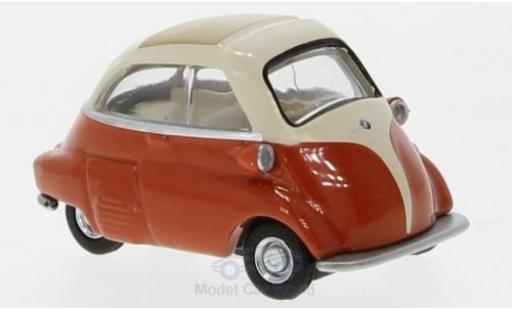 Bmw Isetta 1/64 Schuco beige/orange 1955 diecast model cars