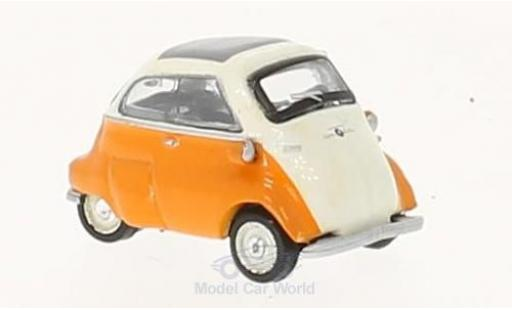 Bmw Isetta 1/87 Schuco beige/orange miniature