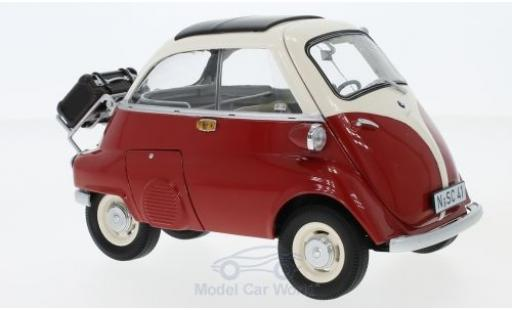 Bmw Isetta 1/18 Schuco rouge/beige Export miniature