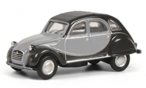 Citroen 2CV 1/87 Schuco 6 Charleston matt-grey/grey diecast model cars