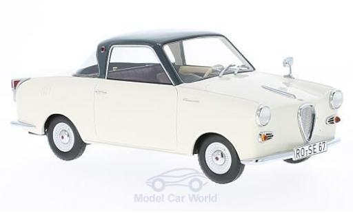 Goggomobil TS 1/18 Schuco 250 Coupe beige/grey diecast model cars