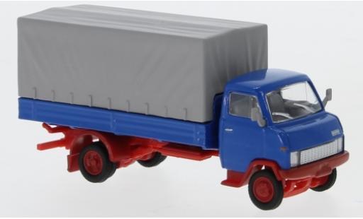 Hanomag F55 1/87 Schuco Pritsche bleue miniature