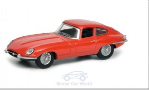 Jaguar E-Type 1/64 Schuco Coupe red diecast model cars